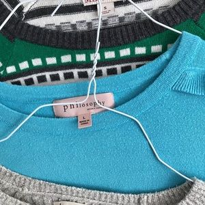 Hollister Sweaters - Abercrombie, philosophy, Meroma Sweaters Sz S